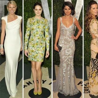 2012 Vanity Fair Oscars Party Celebrity Pictures and Dresses