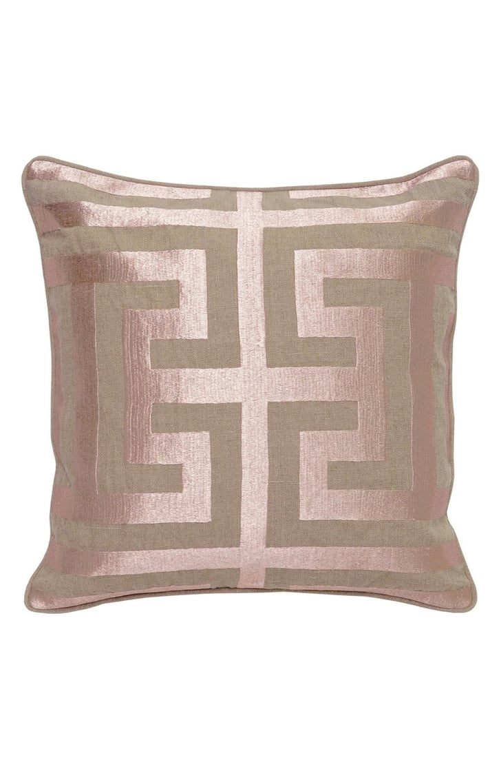 Villa Home Decorative Pillows : Villa Home Collection Capital Decorative Pillow ($89) Rose Gold Home Decor Gifts POPSUGAR ...