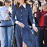 Kate Middleton and Princess Diana Polka-Dot Dress