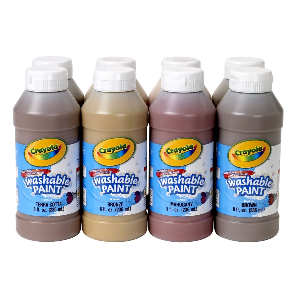 Crayola Multicultural Washable Tempera Paint Set