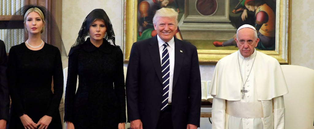 Pope Francis Met Trump, and He Looks Pretty Damn Unhappy