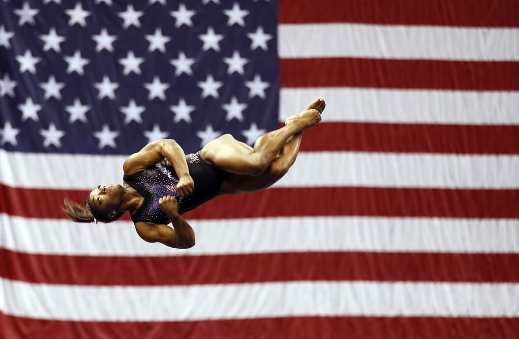 Simone Biles US Gymnastics Championships All-Around Title