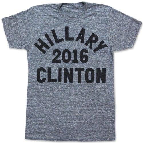 Hillary Clinton For President 2016 T-Shirt ($28)