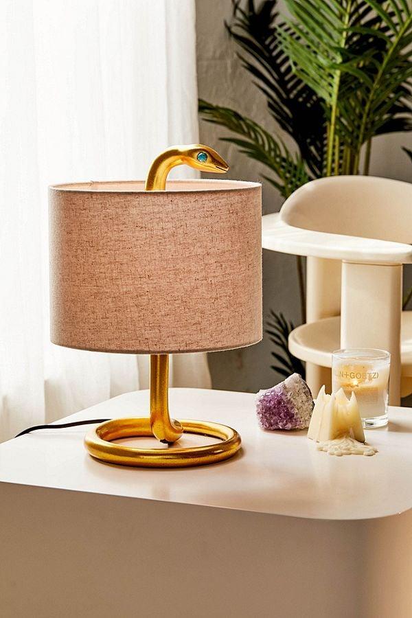 Snake Metal Table Lamp