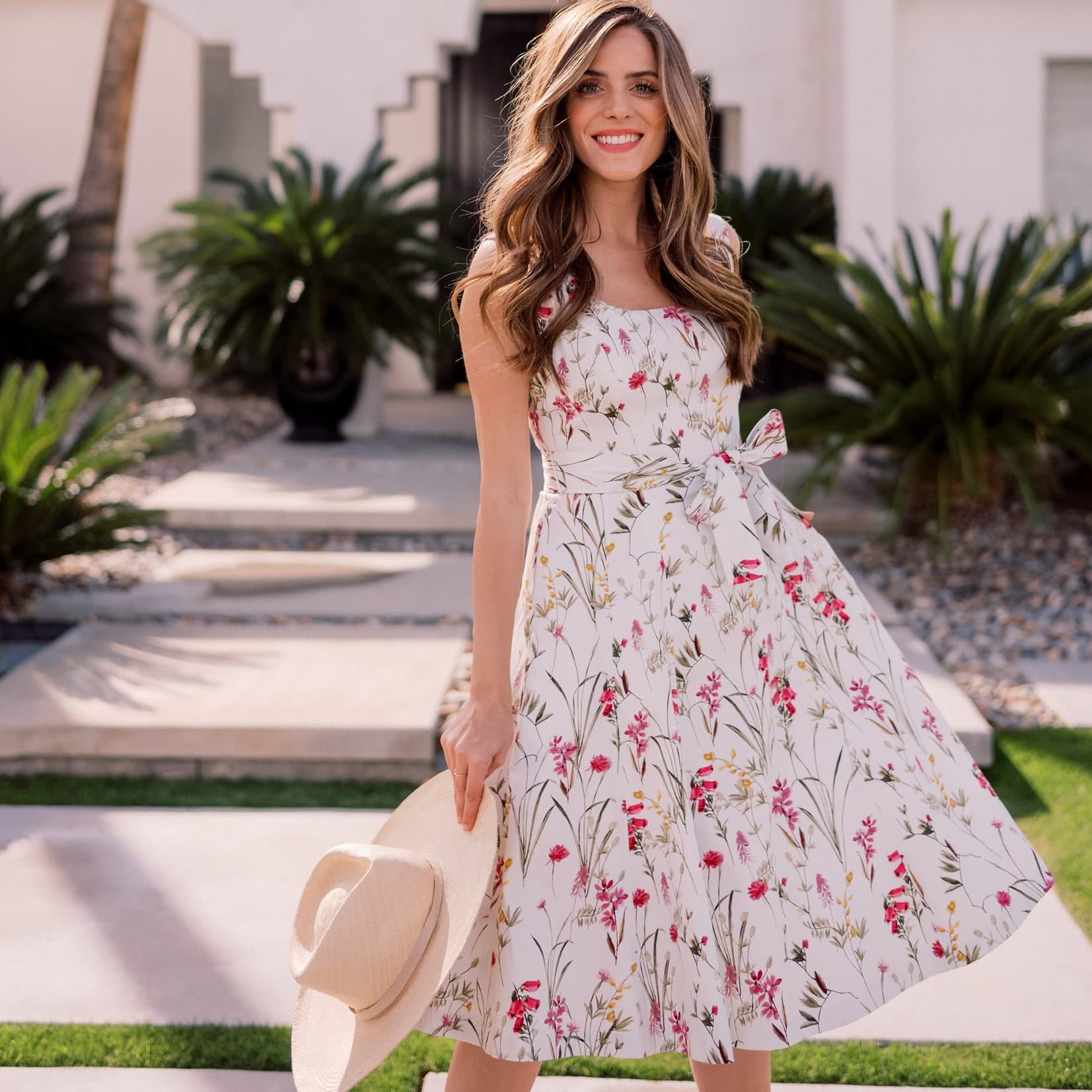 dbc2aff4b350 Gal Meets Glam Collection Phoebe Floral Puff-Sleeve Chiffon Maxi Dress |  Best Summer Dresses 2019 | POPSUGAR Fashion Australia Photo 22