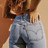 Levi's Wedgie High-Waisted Jeans