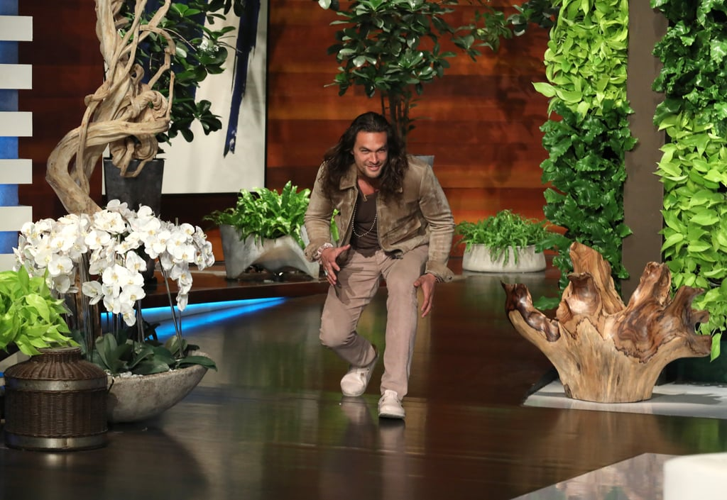 See Photos of Jason's Appearance on The Ellen DeGeneres Show