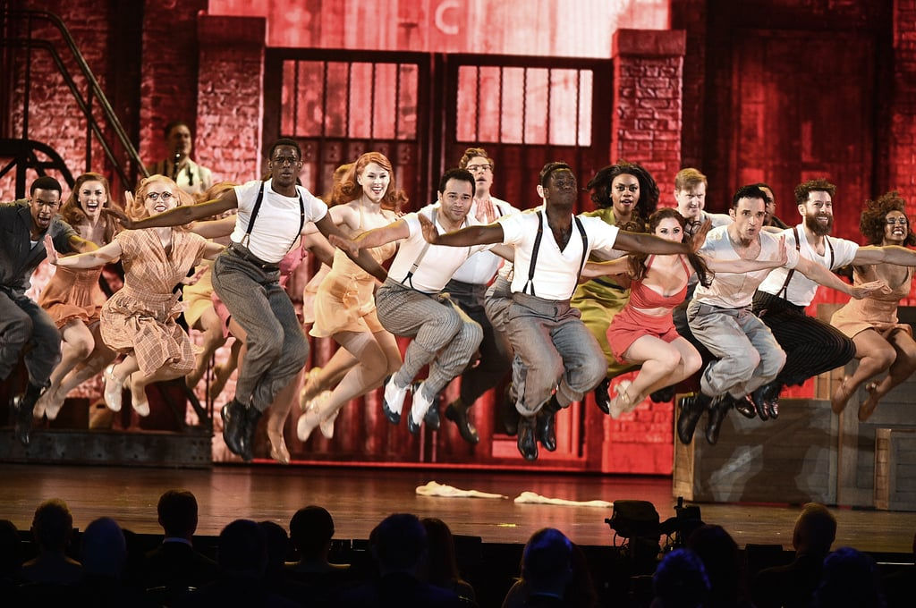 "Corbin Bleu left High School Musical fans feeling pretty nostalgic during Broadway's Kiss Me, Kate performance at the Tony Awards on Sunday. Though Bleu's HSM character, Chad Danforth, famously said ""I don't dance,"" the actor's smooth moves during the show certainly said otherwise. The 30-year-old actor was quick on his feet as he performed ""Too Darn Hot"" with his costars.  Of course, this isn't the first time Bleu has shown off his dance moves on the Broadway stage. In 2010, he played Usnavi in the Broadway company of In the Heights and returned to Broadway two years later in the revival of Godspell. In 2016, he starred in Holiday Inn as Ted Hanover, who was originally played by Fred Astaire in the 1942 film of the same name. Get ready to have your jaw drop to the floor as you watch the cast of Kiss Me, Kate's insanely good performance ahead."