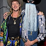 Diplo and Orville Peck at the 2020 Sony Music Grammys Afterparty