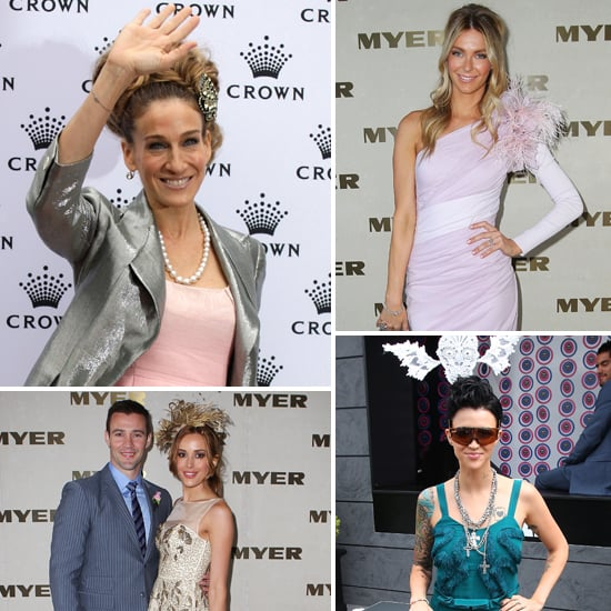 Celebrity Pictures at 2011 Crown Oaks Day Including Jennifer Hawkins, Rebecca Judd, Sarah Jessica Parker