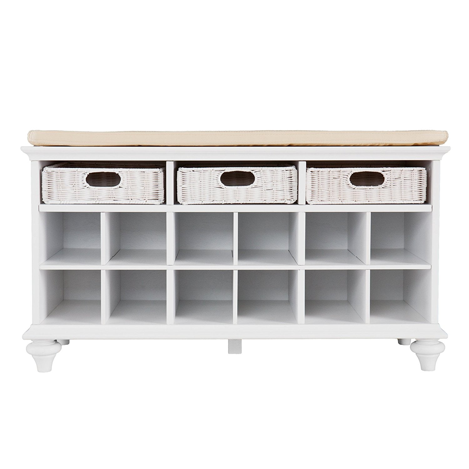 Southern Enterprises Chelmsford Entryway Shoe Storage Bench Get Your Closet In Order With These 15 Shoe Organizers Popsugar Family Photo 10