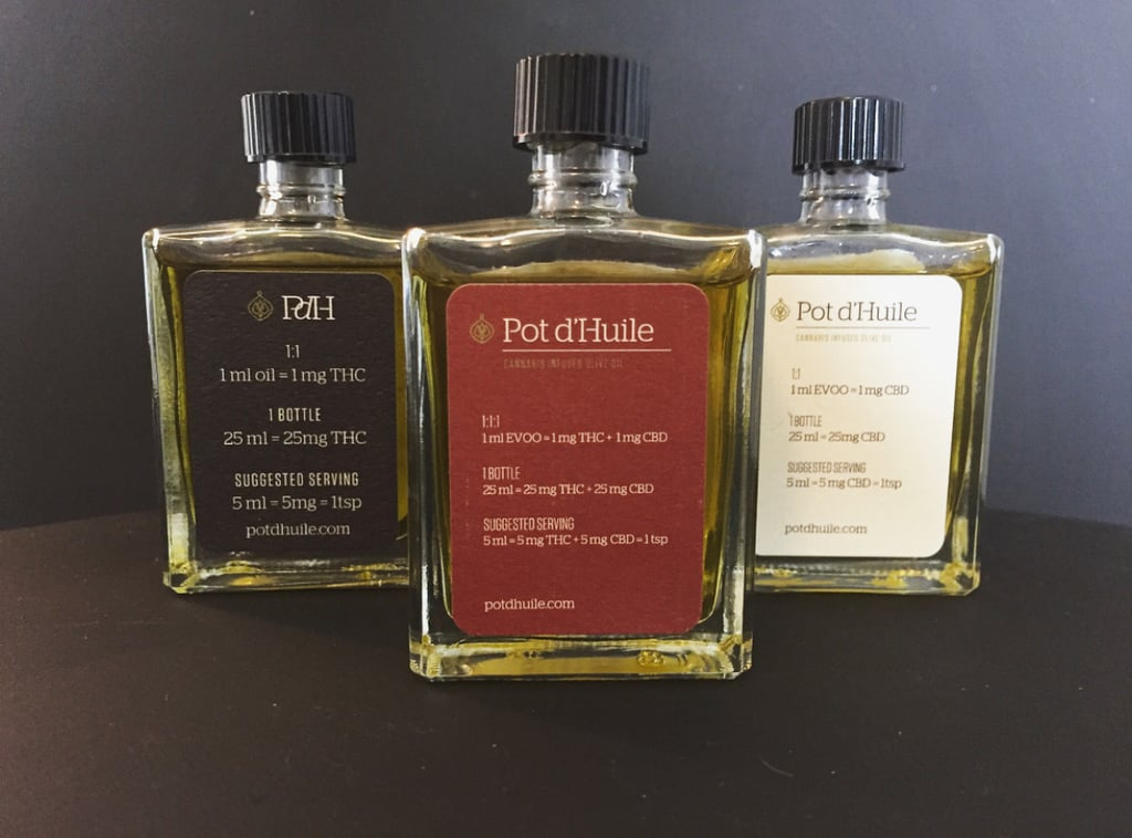 Pot d'Huile CBD Infused Olive Oil