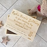 Christening Day Deluxe Personalised Memory Box