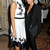Victoria Beckham snapped a picture alongside Colin Firth's wife, Livia.