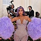 Kylie Jenner With Purple Hair in 2019