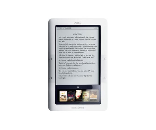 Barnes and Noble Nook ($259)