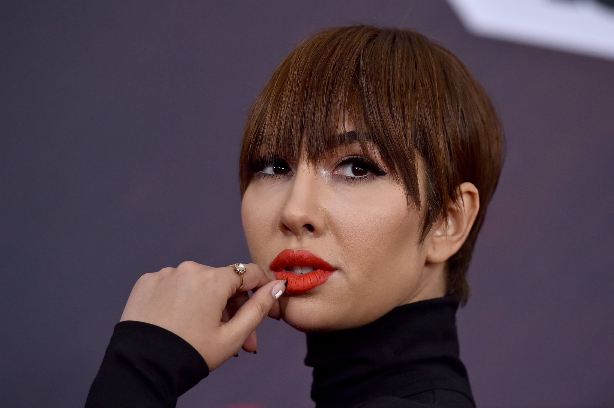 INGLEWOOD, CA - MARCH 11:  Actress Jackie Cruz attends the 2018 iHeartRadio Music Awards at the Forum on March 11, 2018 in Inglewood, California.  (Photo by Axelle/Bauer-Griffin/FilmMagic)