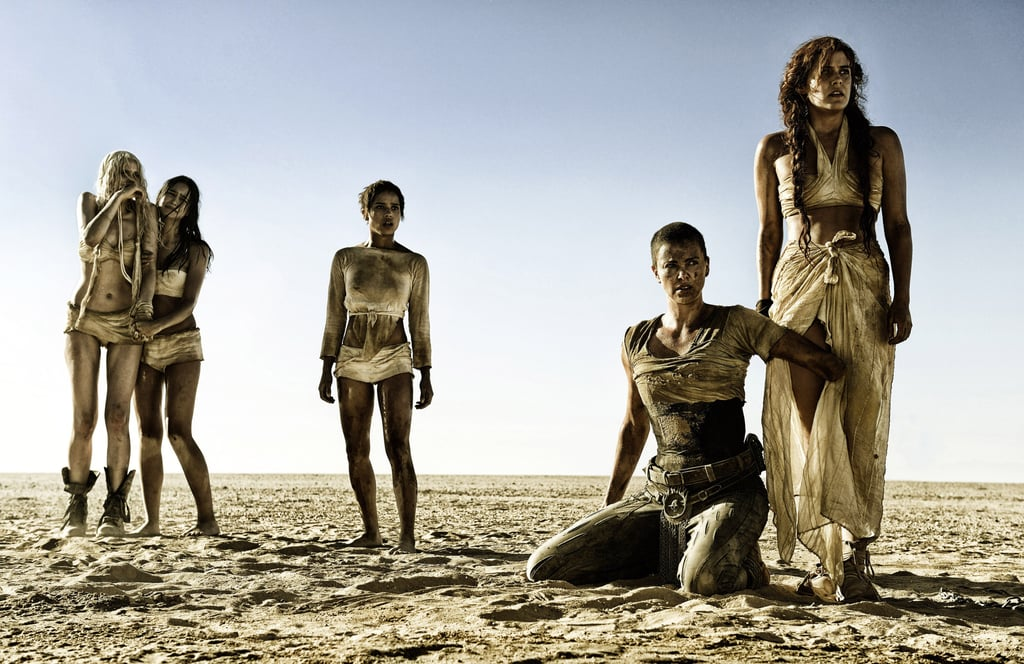 Mad Max: Fury Road: Abbey Lee, Courtney Eaton, Zoë Kravitz, Charlize Theron, and Riley Keough