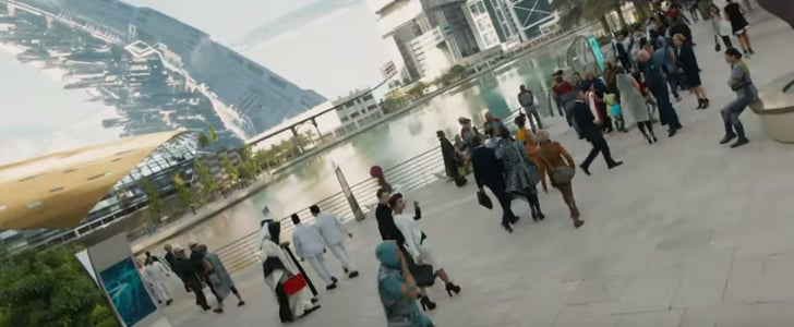 Dubai Metro Features in 3rd Star Trek: Beyond Trailer