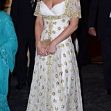 Kate Middleton Wearing Her Alexander McQueen Gown in Malaysia, 2012