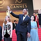 Jessica Chastain, Will Smith, and Fan Bingbing