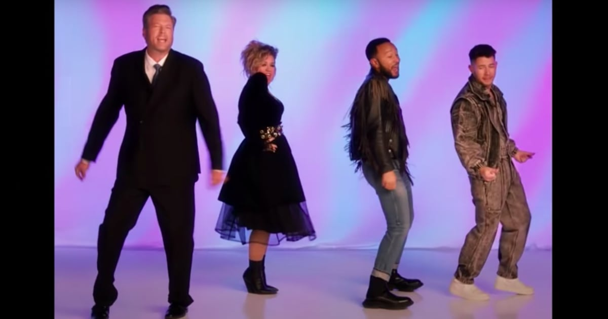 """Trust Me, You Need to See The Voice Coaches Sing This Bodacious Cover of """"Together Forever"""""""