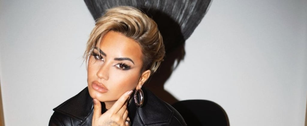 Demi Lovato Debuts Blond Pixie Haircut November 2020