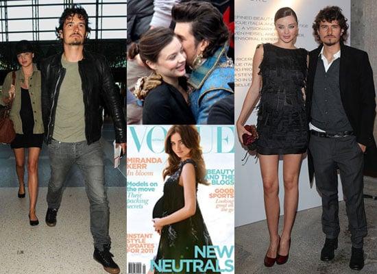 Biggest Headline of 2010: Orlando Bloom and Miranda Kerr Wedding and Pregnancy