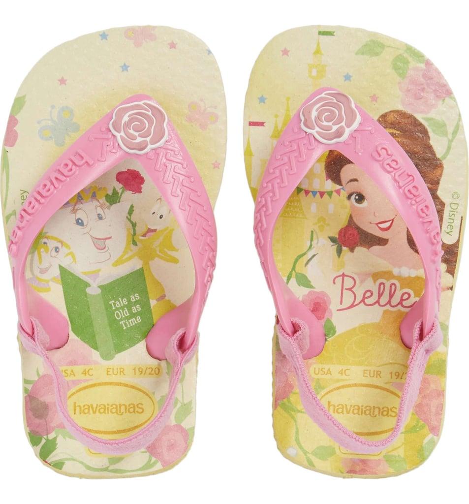 9fdfa7d54cd61 Havaianas Baby Disney Princess Flip Flops