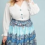 Colloquial A-Line Skirt