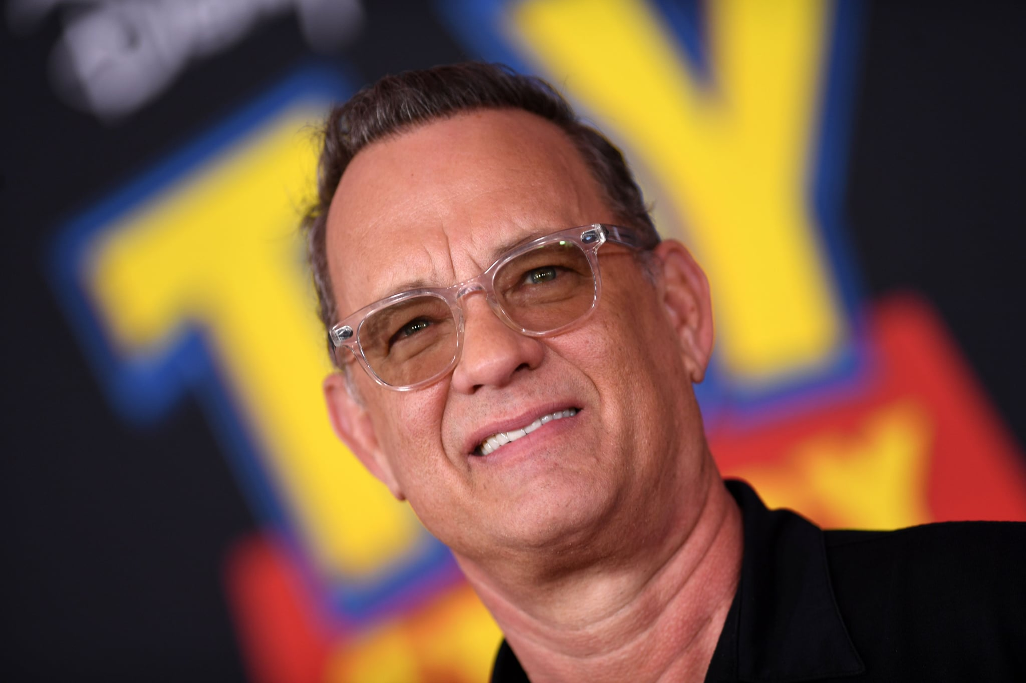 US actor Tom Hanks arrives for the world premiere of