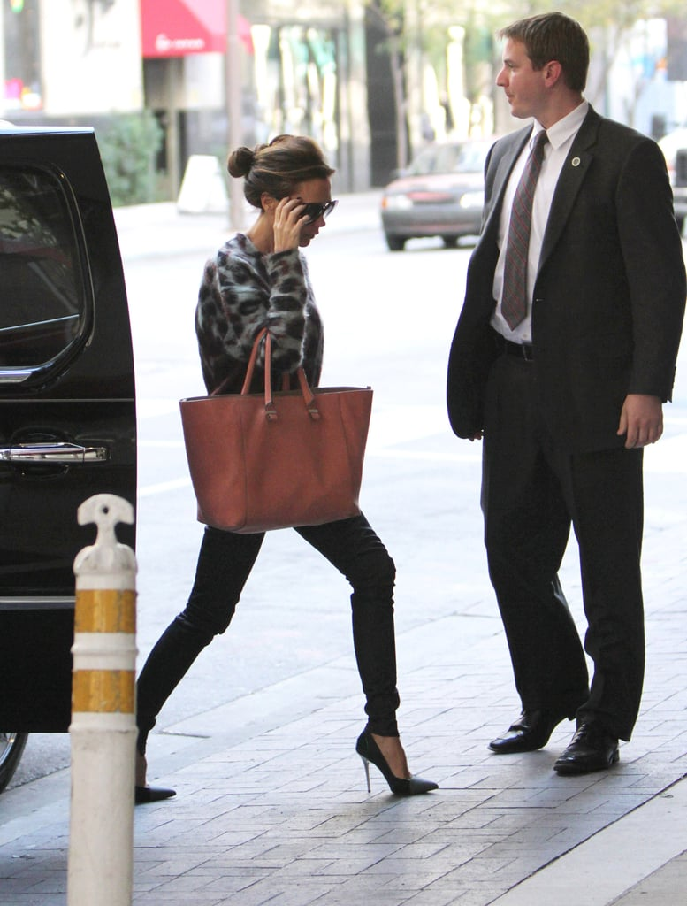 Victoria Beckham Does Dallas While David and Harper Play in LA
