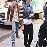 Katy Perry and John Mayer were seen grabbing lunch together.