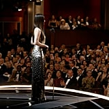 Sandra Bullock at the Oscars 2018