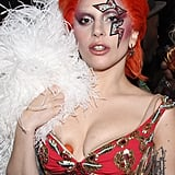 Lady Gaga at Mark Ronson's Grammys Afterparty