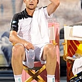 Andy Roddick during the Delray Beach International.