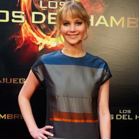 Jennifer Lawrence in Madrid Talking About The Hunger Games