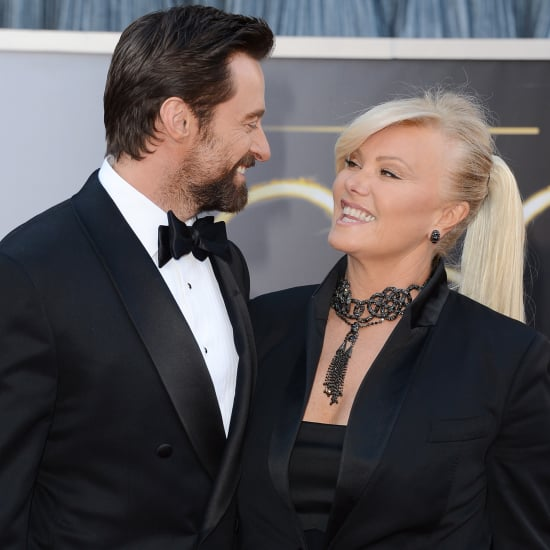 Hugh Jackman and His Wife at the Oscars 2013