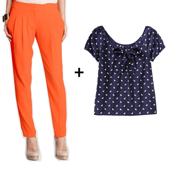 How to Work an Orange and Blue Combo