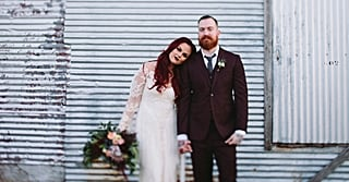 Obsessed With This Creepy Wedding? Just Wait Until You See the Bride's Ghostly Gown