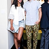 Hannah Bronfman and Brendan Fallis at the Altamarea Group's Butterfly launch hosted by Hannah Bronfman and Chef Michael White in New York.  Source: Benjamin Lozovsky/BFAnyc.com