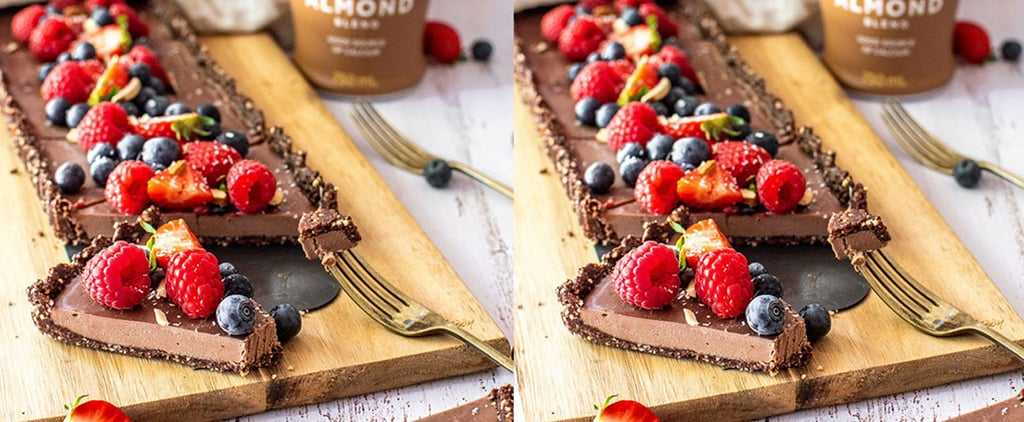 Healthy Chocolate Fudge Tart Recipe