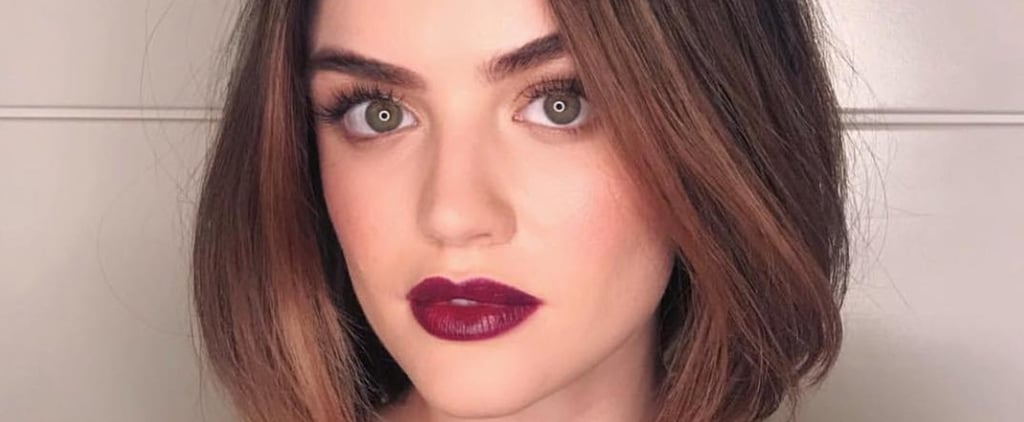 Lucy Hale Blond Hair November 2018