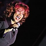 Donna Summer belts it out.