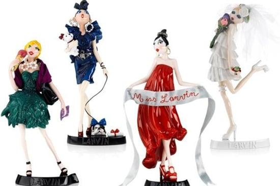 Alber Elbaz Creates Lanvin Porcelain Figures