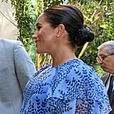 Meghan Markle's Twisty Knot, 2019
