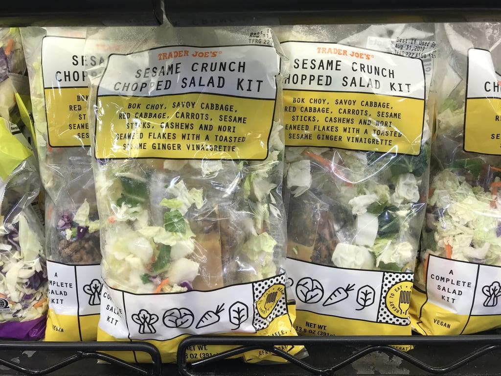 Trader Joe's Sesame Crunch Chopped Salad Kit ($4)