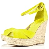 Topshop Whistle Espadrille Wedges ($84)