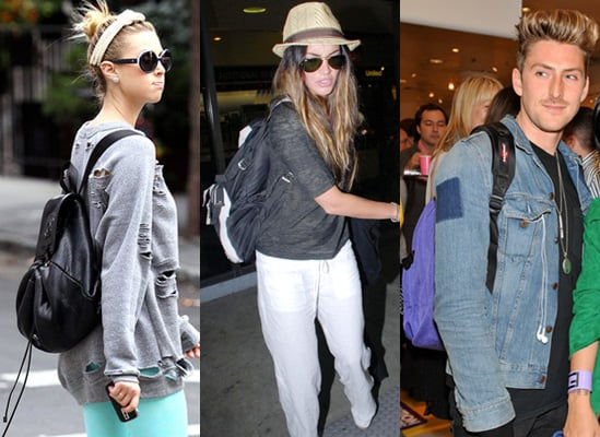 Backpacks Rucksacks, Photos of Whitney Port, Megan Fox and Henry Holland