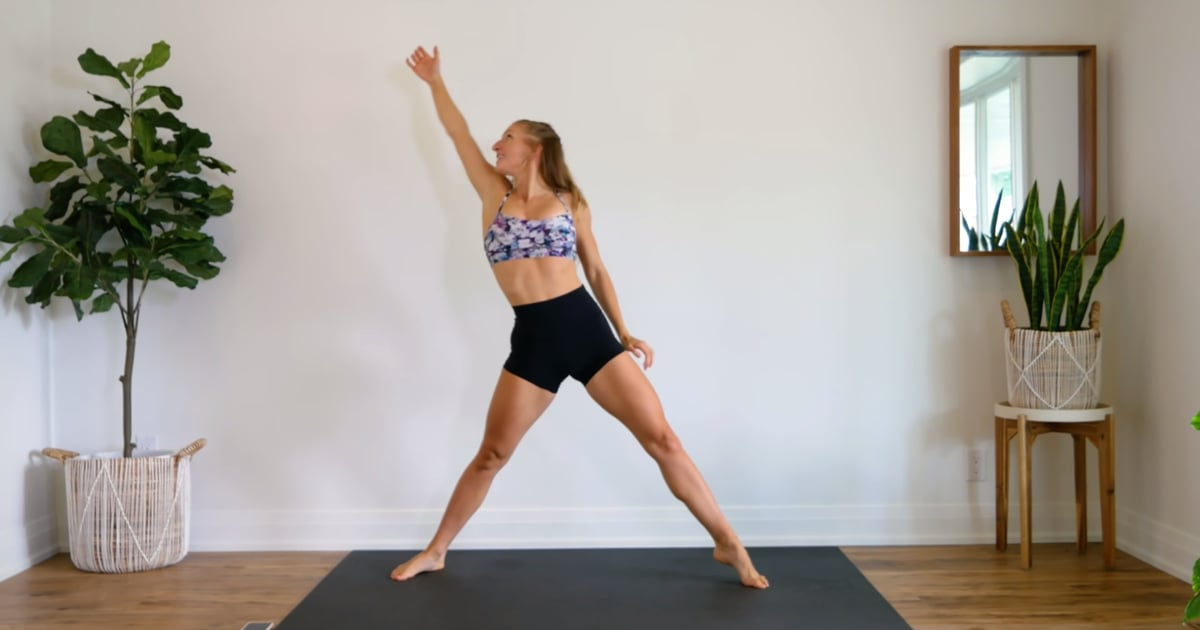 Wonder What It's Like to Smile While You Sweat? Check Out This 3-Minute Dance Workout - POPSUGAR